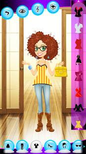Chica noche juegos de vestir