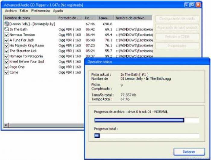 Advanced Audio CD Ripper