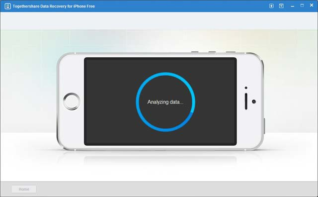 TogetherShare Data Recovery for iPhone Free