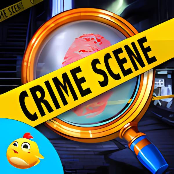 Hidden Object Crime Sence