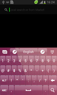 Color Keypad for Galaxy