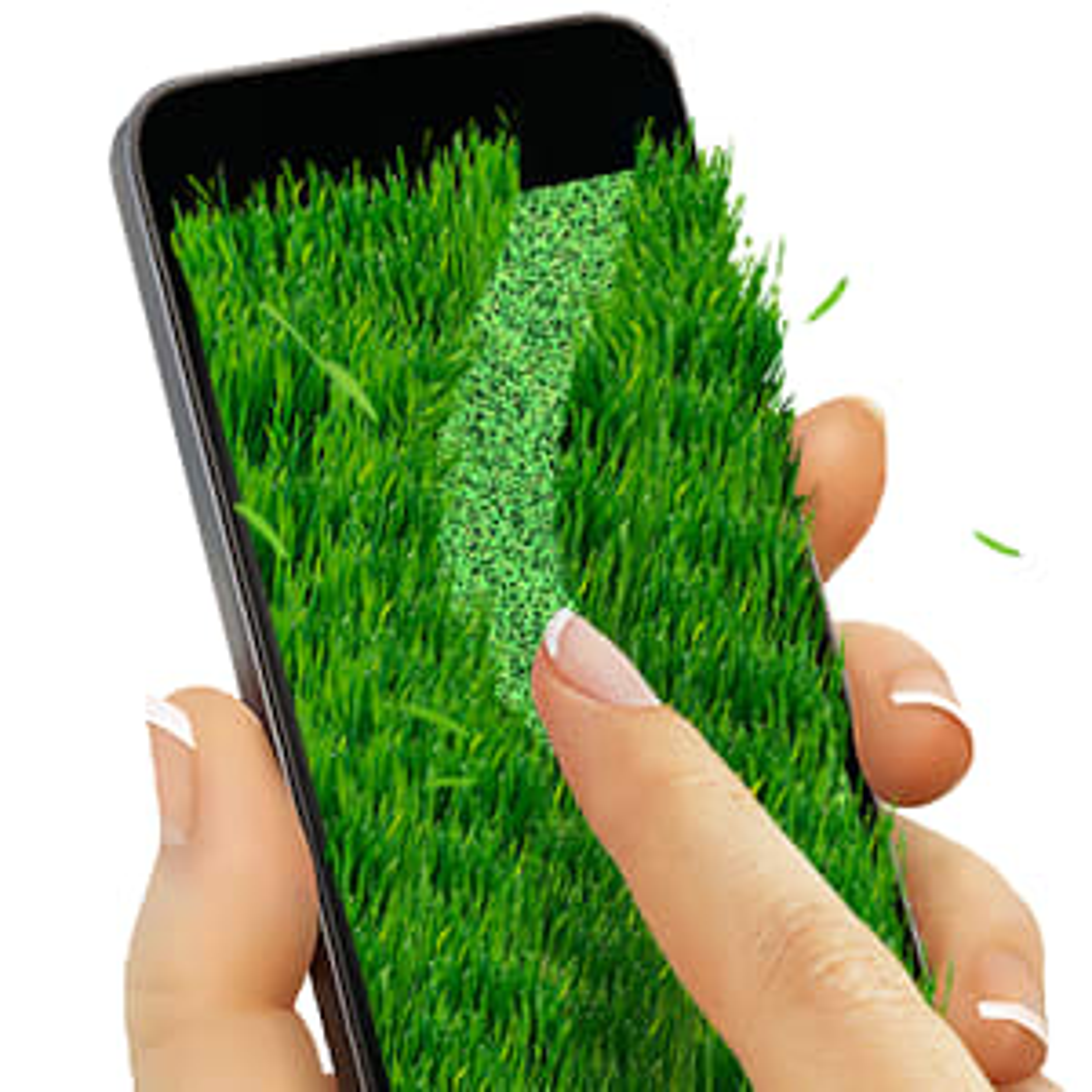 Lawnmower: writing on grass 1.3