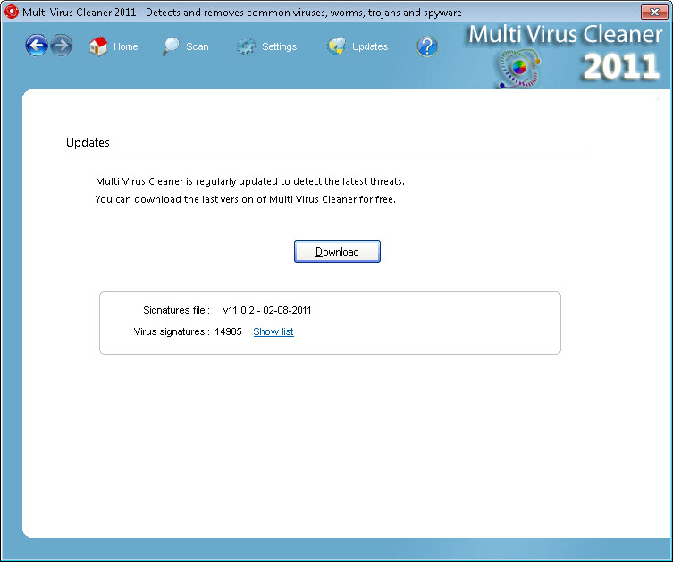 Multi Virus Cleaner 2011