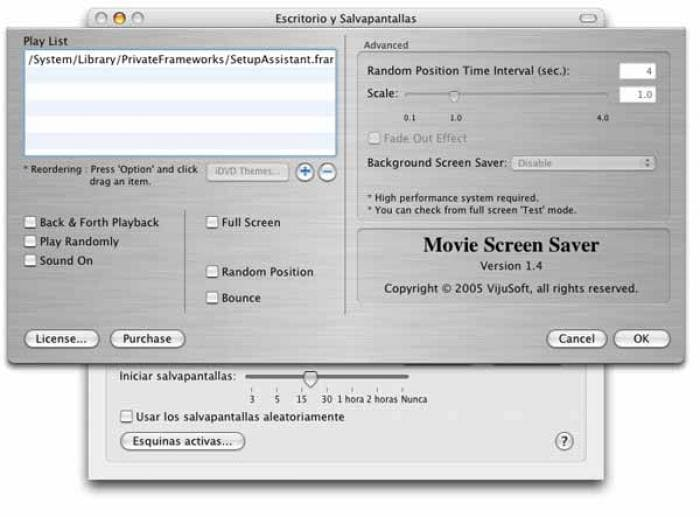 Movie Screen Saver