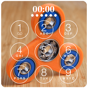 Fidget Spinner Lock Screen