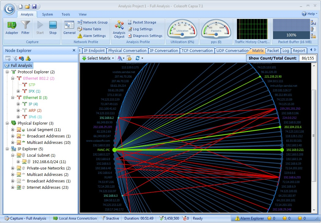 Colasoft Capsa Network Analyzer