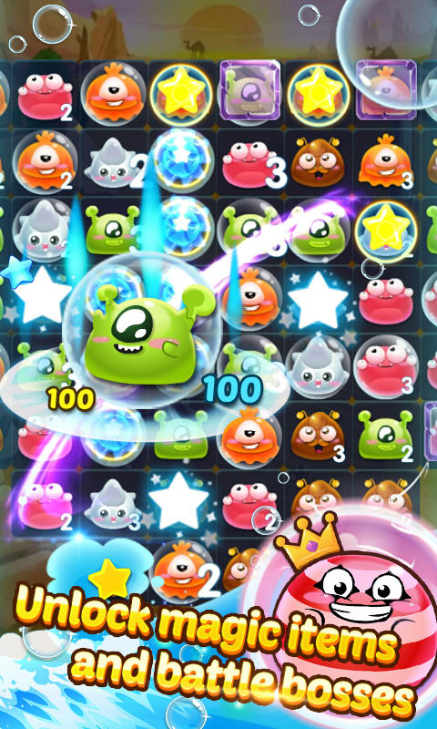Monster Pop Bubble Buster 2