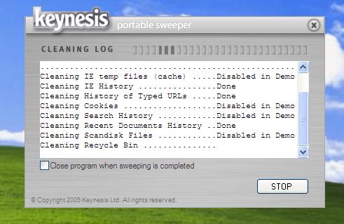 Keynesis Portable Sweeper