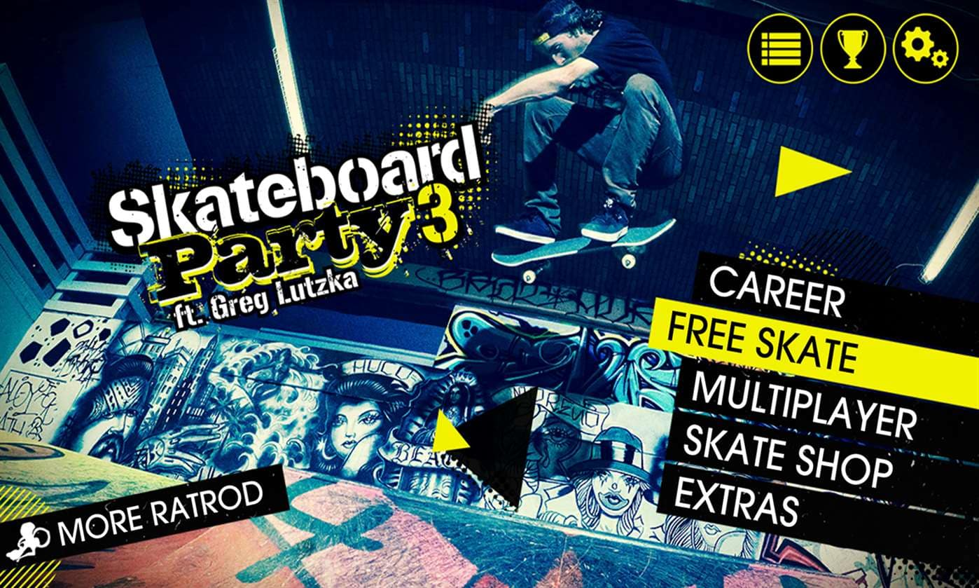 Skateboard Party 3 Lite ft Greg Lutzka