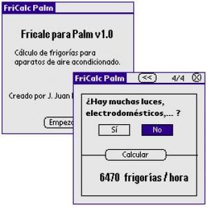 FriCalc Palm
