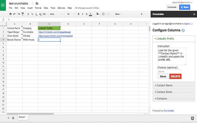 Magic Spreadsheet