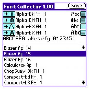 Font Collector