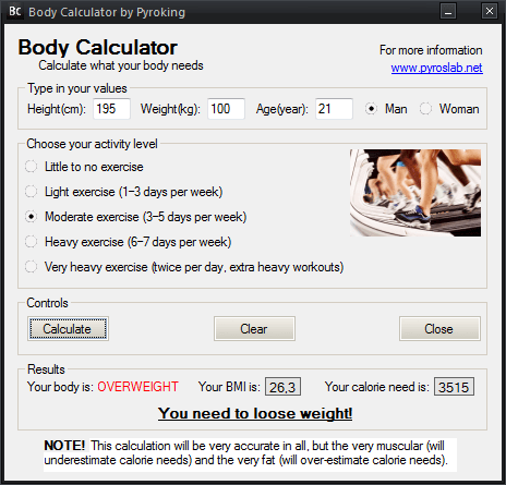 BodyCalculator