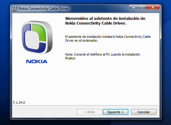 Driver for Nokia CA and DKU USB cables