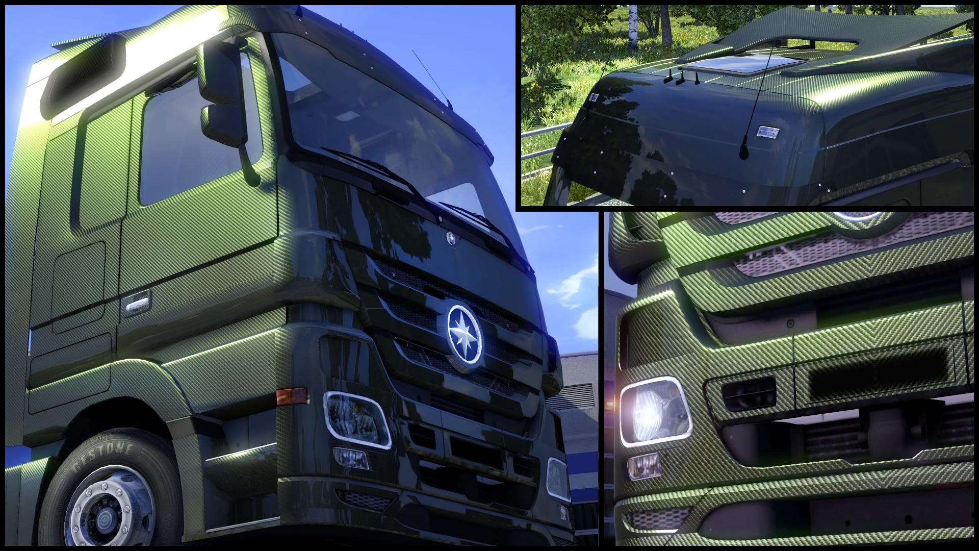 Euro Truck Simulator 2 - Metallic Paint Jobs Pack