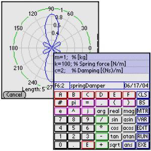 PDAcalc matrix