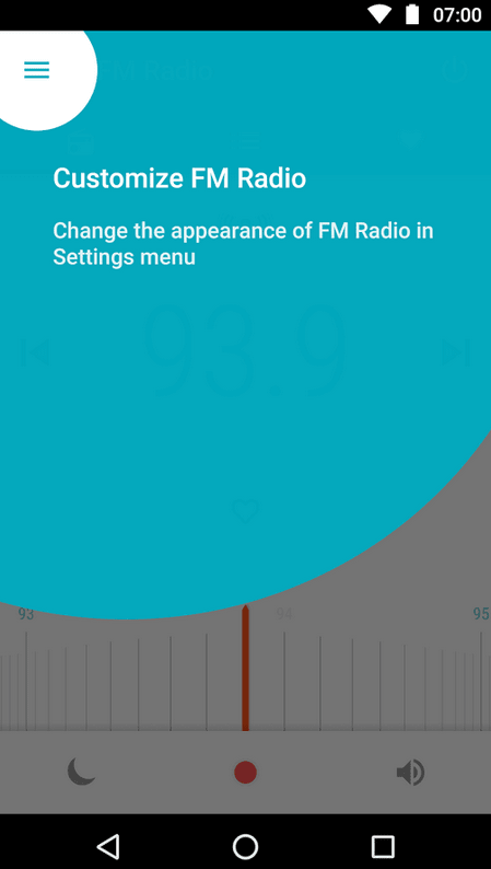 Motorola FM Radio