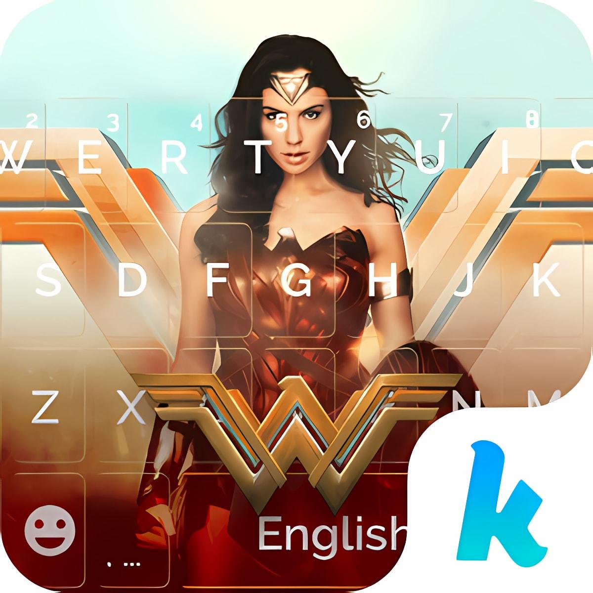 Wonder Woman Kika Emoji Theme 1.0
