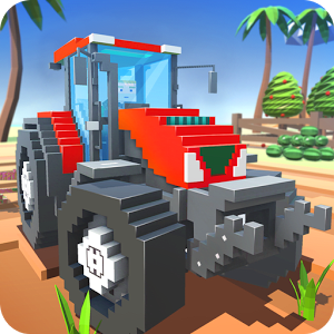 Blocky Farm: Field Worker SIM