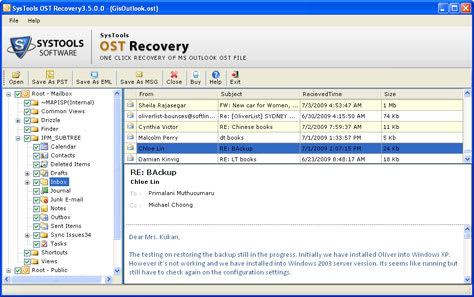 OST Conversion PST