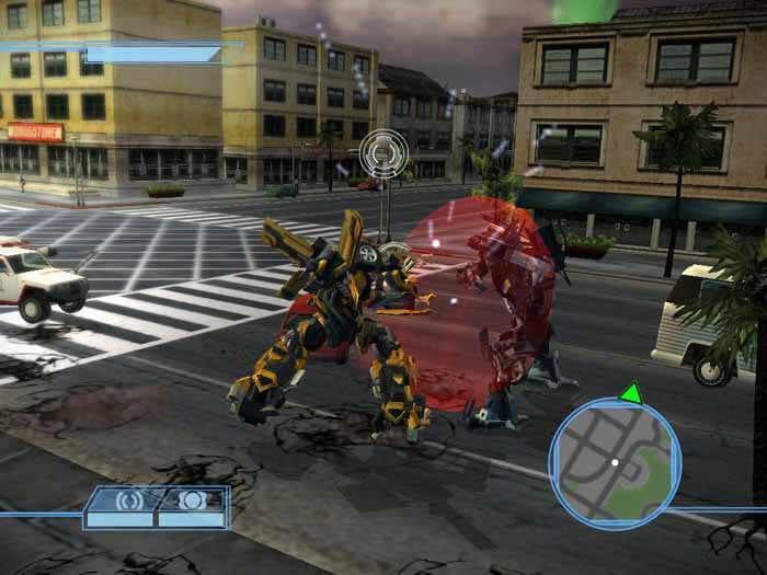Скачать игру transformers the game на pc через торрент