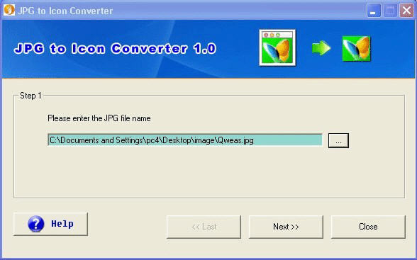 JPG to Icon Converter