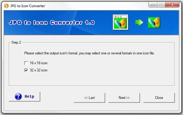 JPG to Icon Converter