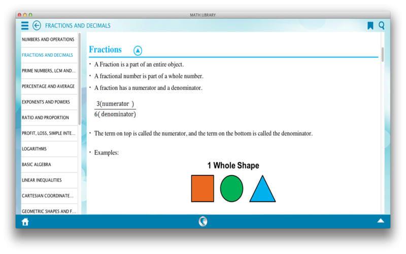 Math Library by WAGmob