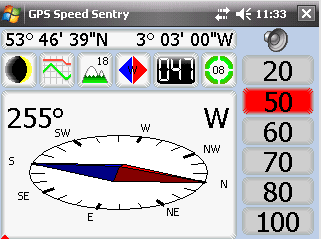 GPS Speed Sentry
