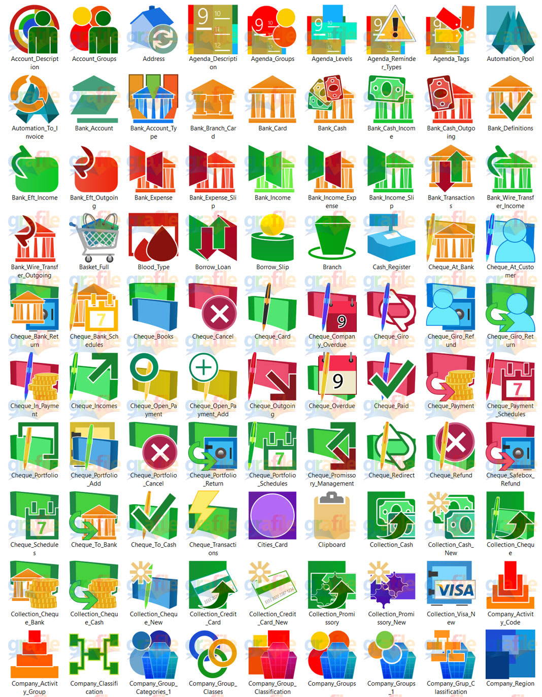 Subscription Icon Collection