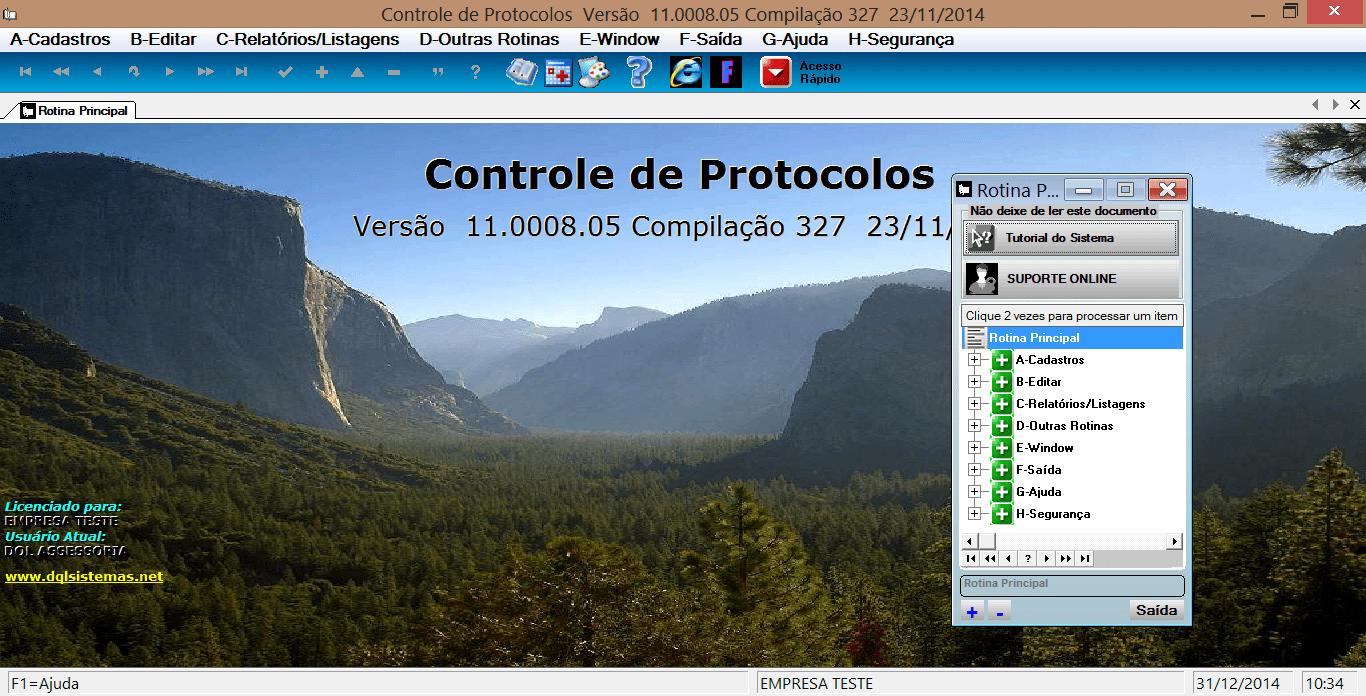 Controle de Protocolos-DQL