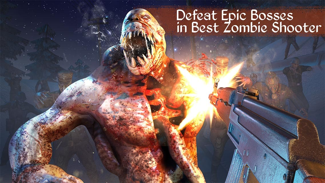 Zombie Call: Modern Trigger of Dead Combat Shooter