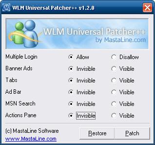 WLM Universal Patcher++