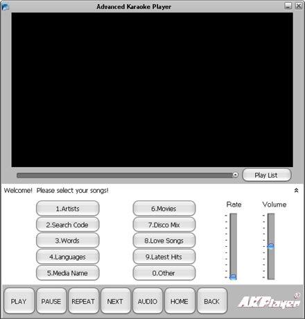 Advanced Karaoke Player