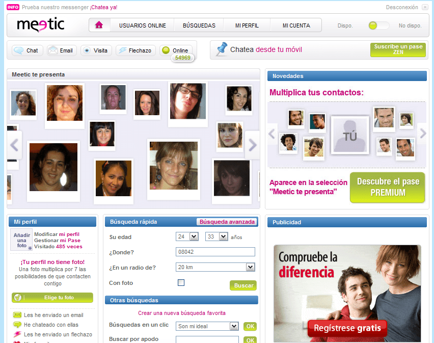 video erotico gratis meetic free