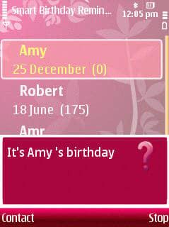 Smart Birthday Reminder