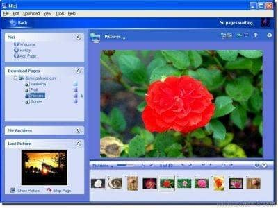 Nici Picture Downloader