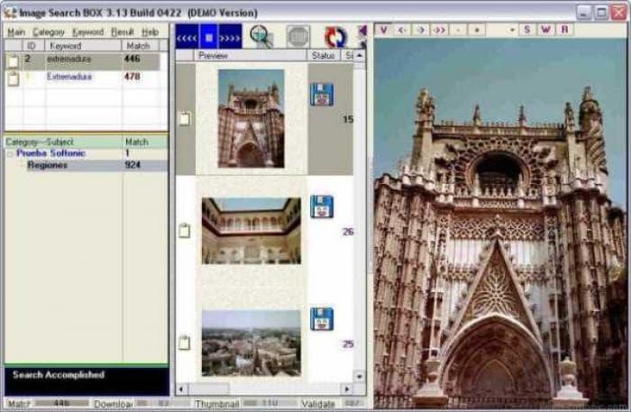 Image Search Box