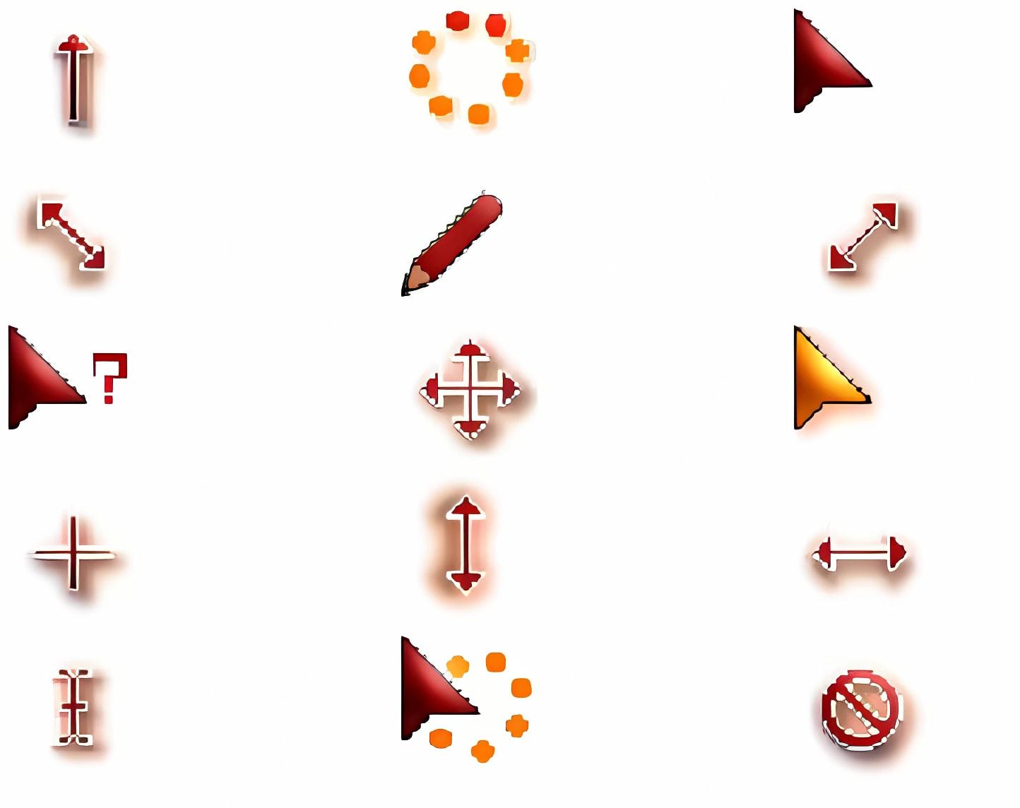 Alfyxk d red cursor download for xp