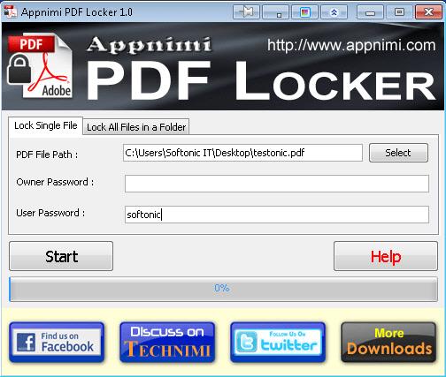 Appnimi PDF Locker