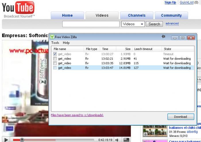 Free Video Zilla