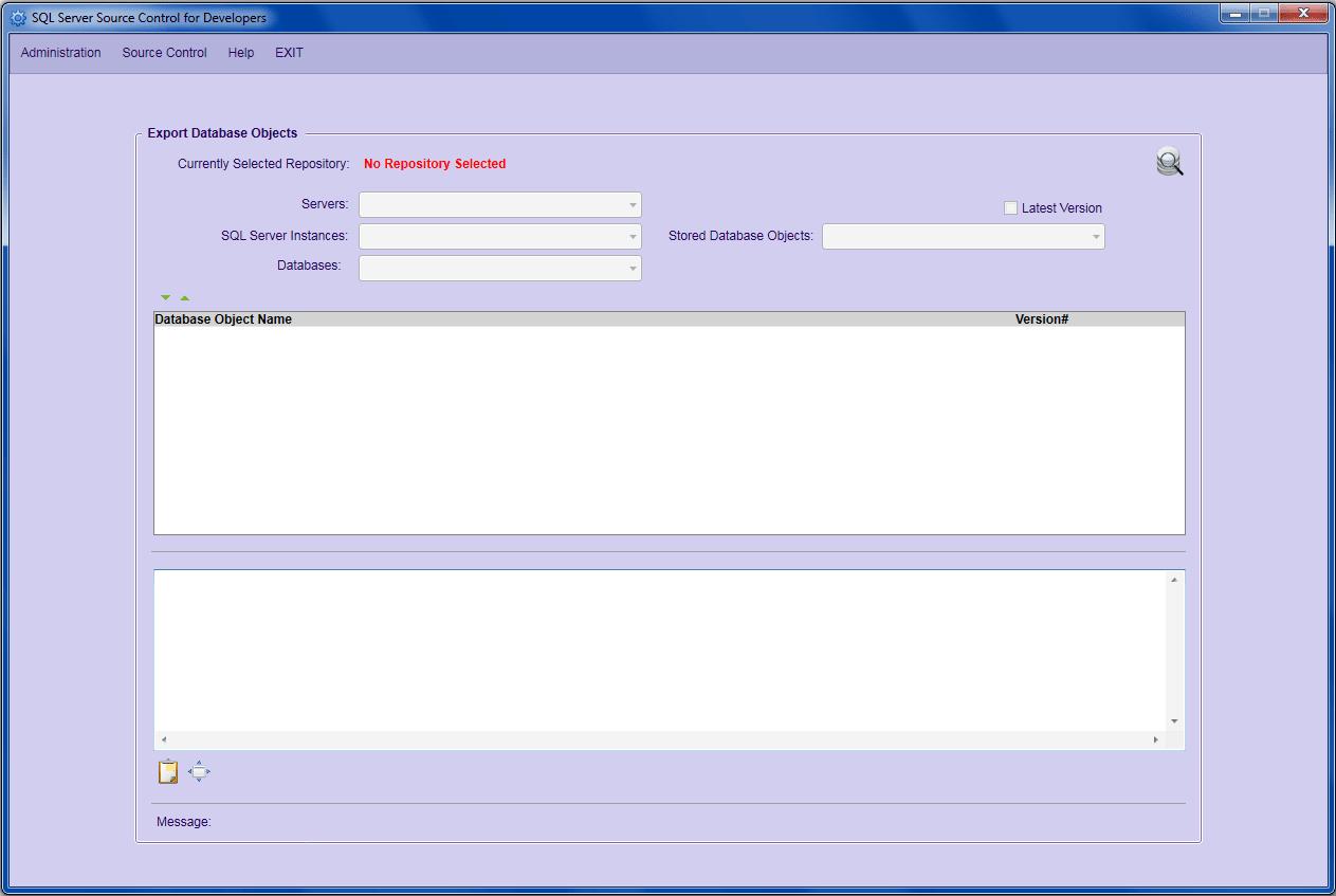SQL Server Source Control for Developers