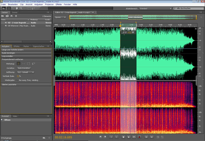 Adobe Soundbooth