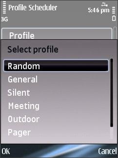 Profile Scheduler