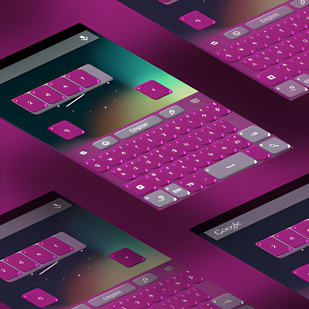 Pink Ladies Keyboard