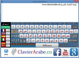 Clavier arabe co