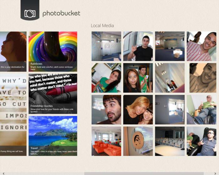 Photobucket pour Windows 10