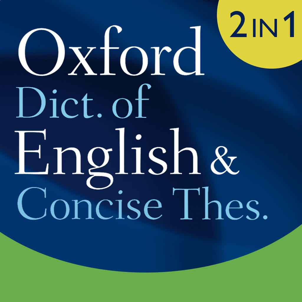 Oxford Dictionary of English and Concise Thesaurus