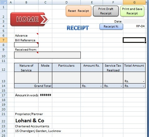 ABCAUS Excel Accounting Template - Download