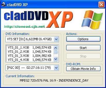 cladDVD .NET